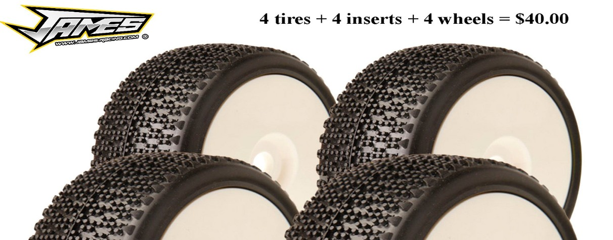 1/10 & 1/8 Off-Road Tires and Wheels